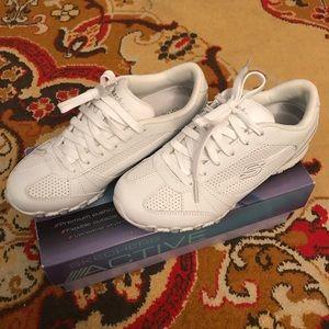 Skechers White Sneakers